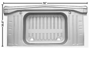Chevychevrolet Impala Trunk Floor With Pan No Drop Offs 1963