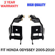 Pair - Left And Right - Center Mount Sliding Door Rollers Fits 05-10 Honda Odyssey