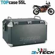 Top Case Aluminum 55 L With Luggage Rack Ktm 1190 Adventure Abs And03913and039/14 Mytech