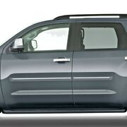 Painted - Body Side Moldings With Chrome Insert For Toyota Sequoia 2008-2021