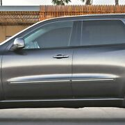 Painted Body Side Moldings With Chrome Insert For Durango No Citadel 2011-2020