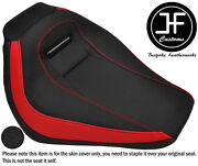 Red And Grip Vinyl Custom Fits Harley Davidson Breakout 18-19 Front Seat Cover