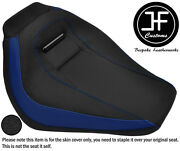 R Blue And Grip Vinyl Custom Fits Harley Davidson Breakout 18-19 Front Seat Cover