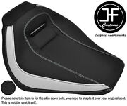 White And Grip Vinyl Custom Fits Harley Davidson Breakout 18-19 Front Seat Cover