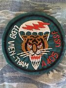 Theater Hand Made Vietnam Special Forces Macv Sog Llbd A-405 Tiger Force Patch
