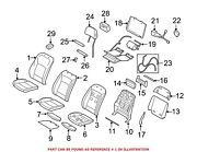 For Bmw Genuine Seat Back Cover Front 52109172707
