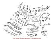 For Bmw Genuine Bumper Cover Stay Front 51117352236