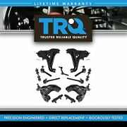 Trq Front Control Arm Ball Joint Tie Rod Sway Bar Link Adjusting Sleeve Kit 13pc