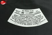 65 66 67 Pontiac Air Cleaner Service Instructions Filter A98c Black