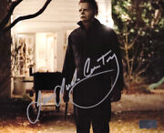 James Jude Courtney Michael Myers Signed Halloween 8x10 Photo-house With Knife