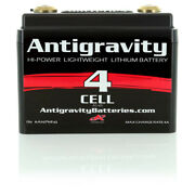 Antigravity Batteries Ag-401 Lithium Battery 4 Cell Small Case Motorcycle Harley