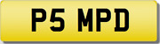 Mpd Ps Psm Pd Md P5 Private Cherished Registration Number Plate Rare 5 Digit Mpd