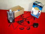 Plantronics Cs50 Wireless Office Headset System Actual Pictures In Ad