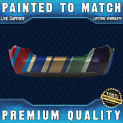 New Painted To Match Rear Bumper Cover For 2014-2019 Toyota Corolla Sedan 14-19