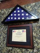 Shelley Merrick Champion 50's And 60's Surfer Appreciation Flag Flown Over Capitol