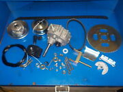 Go Cart/buggy Transmission Forward/ Reverse With Clutches/ Sprockets/ Shift 1