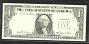 1981 1 Federal Reserve Note, Atlanta Seal And Serials On Back.