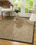 Hand Woven Sisal Durable Eco-friendly Multi-color Venus Natural Area Rugs