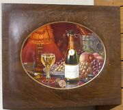 Early 1900's Cook's Champagne Tin Sign