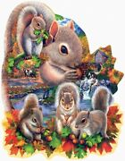 Suns Out Autumn Squirrels Puzzle Collectible