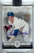 Sandy Koufax 2017 Topps Archives Signature Auto Buyback Dodgers 19 1/1