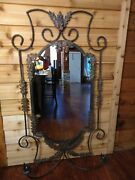 John Richard Collection Luxury Mirror And Candle Holder 63 X 34 Large