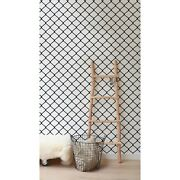 Chain Black And White Scribbles Removable Wallpaper Peel And Stick Hand Drawn