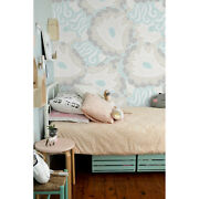 Removable Wall Mural Floral Pastel Colors Kids Room Nursery Dots Bright Subtle