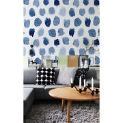 Ink Dots Abstract Removable Wallpaper White Mural Self Adhesive Peel And Stick