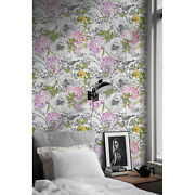Monochrome Birds Removable Wallpaper White Wall Mural Self Adhesive Peel And Stick