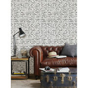 Letters Handwriting Removable Wallpaper White Mural Self Adhesive Peel And Stick