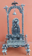 Antique Genuine Colonial Holy Procession Of Silver-nickel 1800s
