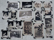 Soldier Life Army Camp Dirigible Blimp Lot Of 29 Photos