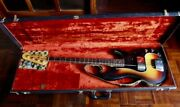Fender 1977 Precission Electric Bass Guitar Rosewood With Hard Case Usa S75978