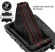 Red Stitch Top Grain Leather Dsg Automatic Shift Boot Fits Vw Arteon 17-19