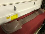 Nos 1958 Ford Front Stone Guard / Bumper Filler Panel / Valance B8a-17748-a