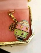New In Box Nwt Juicy Couture Easter Egg W Yorkie Charm Yjru1682 W Tag Box Le