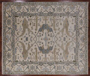 8and039 3 X 9and039 9 Hand Knotted Turkish Oushak Rug - Q1468