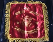 Signal Corps Fort Monmouth Nj Silk Pillow Case-vintage Sweetheart Homefront Wwii
