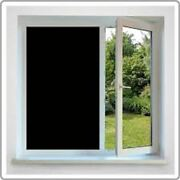 36 X 25 Ft Roll Blackout Film Privacy For Office,bath,glass Door,stores,schools