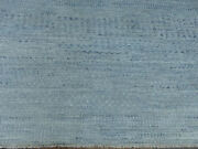 9and039x10and039 Gray Hand Knotted Wool Savannah Grass Oriental Modern Turkish Knot Rug