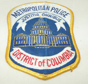 District Of Columbia Metropolitan Police Patch - New