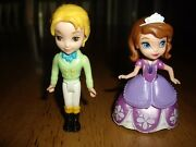 Euc Disney Sofia The First Ast Brother James Figurines Castle Replacement Sophia