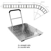 Came-tv Dolly Platform System With 4 Straight And 2 Curved Locking Tracks