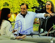 Oliver Stone Signed Autographed 11x14 Photo Director Behind The Scenes Gv834919