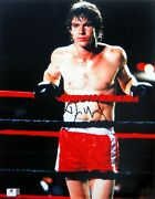 Dennis Quiad Signed Autographed 11x14 Photo Tough Enough In Ring Gv809669