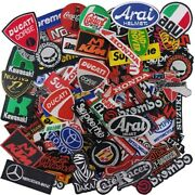 Iron On Patch Embroidered Wholesale Car Race Auto Motor Biker Motorcycle Motogp