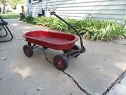 Antique Child's Toy Wagon - 85 Years Old - Very Neat Vintage 1930-40's
