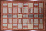 6and039 8 X 10and039 3 Hand Knotted Gabbeh Wool Rug - H7120
