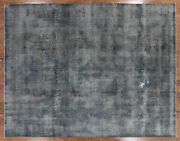 Hand Knotted Overdyed Wool Rug 9and039 6 X 12and039 4 - H7324